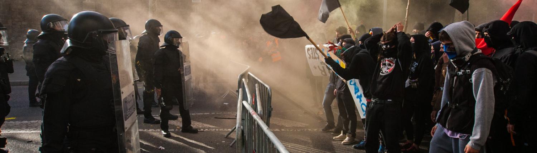 barcelona protestas pedro sanchez consejo ministros