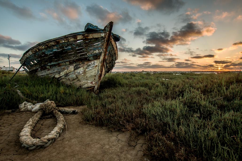 Crisis Climática - Cambio Climático - Sequia - Sanlucar de Barrameda Cadiz