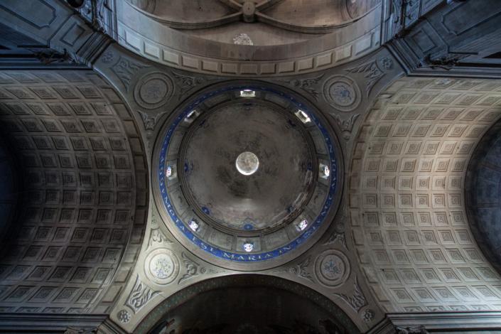 Cúpula iglesia santa maria de Capellades