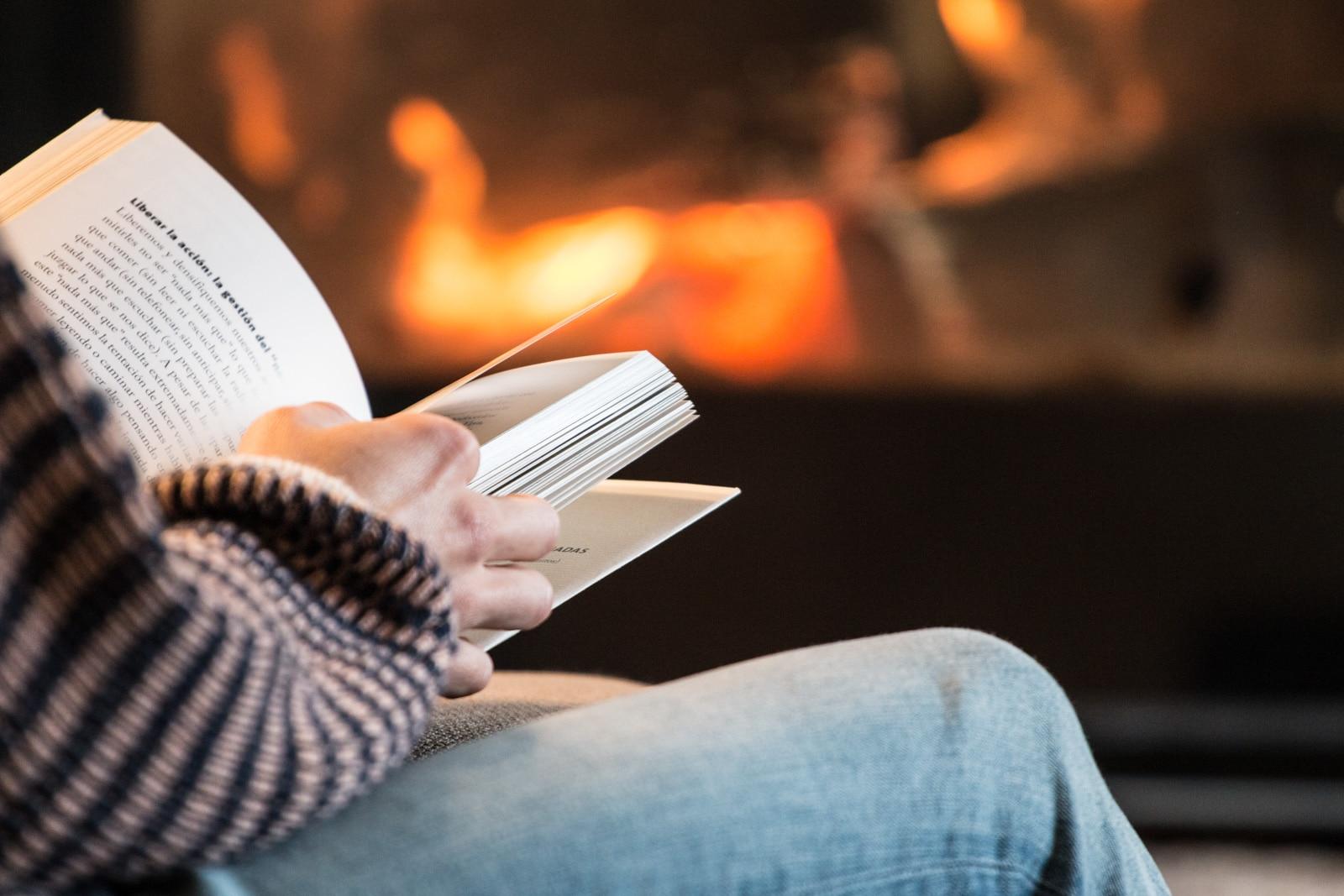 libro estufa leña casa rural lujo