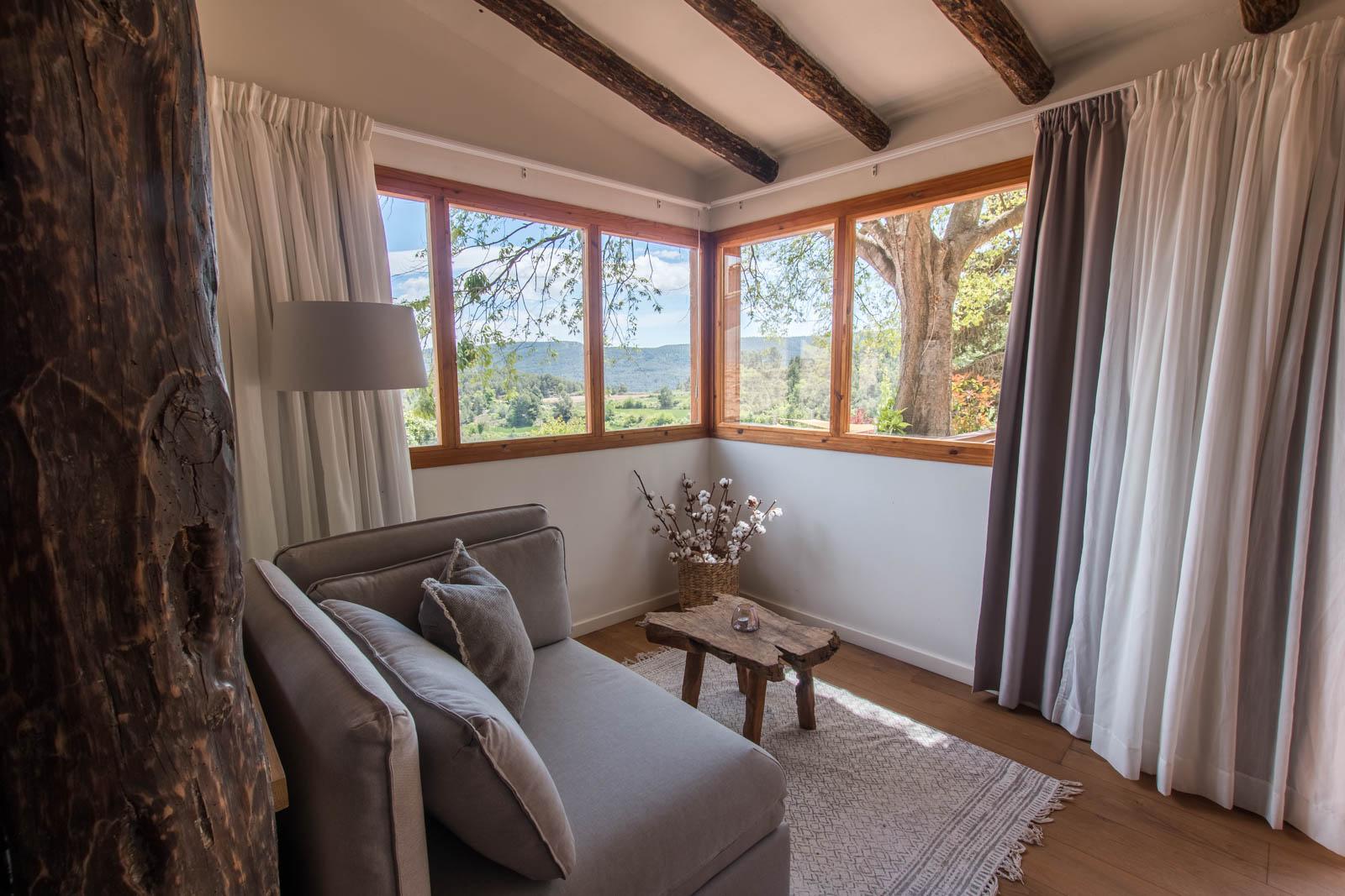 interior habitación casa rural de lujo